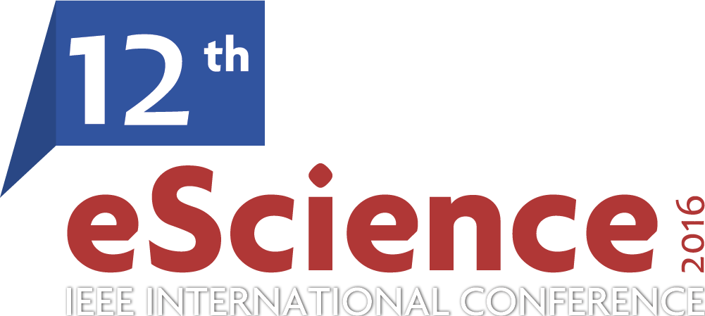 2016 ieee 12th international conference on escience baltimore